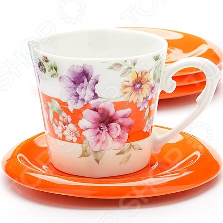 Чайный набор Loraine LR-24703 «Цветы» чайный набор loraine lr 24668