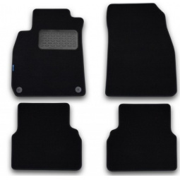 Комплект ковриков в салон автомобиля Novline-Autofamily Skoda Roomster 2006 универсал. Цвет: черный - фото 4