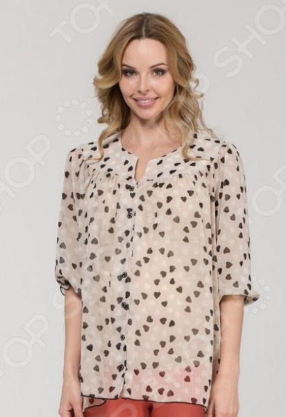 Блузка для беременных Nuova Vita 1336.01 это легкая и нежная блуза, которая поможет вам создавать невероятные образы, всегда оставаясь женственной и утонченной. Благодаря отличному дизайну она скроет недостатки фигуры и подчеркнет достоинства. Блуза прекрасно смотрится с брюками и юбками, а насыщенный цвет привлекает взгляд. В этой блузе вы будете чувствовать себя блистательно как на работе, так и на вечерней прогулке по городу. Универсальная длина до середины бедра делает блузу идеальным выбором на любом сроке беременности, а удобные рукава скрывают полноту рук. Блуза изготовлена из мягкой ткани 100 полиэстер , благодаря чему материал не скатывается и не линяет после стирки. Даже после длительных стирок и использования эта блуза будет выглядеть идеально. Ткань позволяет телу дышать, что очень важно для здоровья женщины в период беременности.