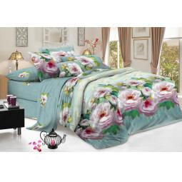 Комплект постельного белья Flora «Зефир». 1,5-спальный