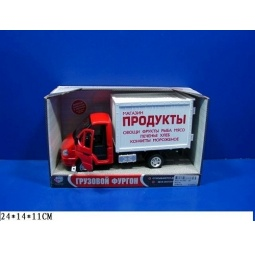 Купить Машина инерционная Joy Toy «Газель фургон Продукты» Р40514