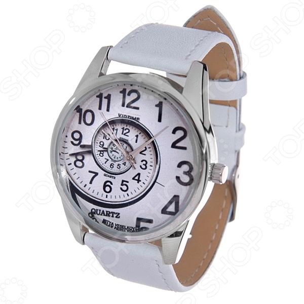 Часы наручные Mitya Veselkov «Спираль времени» MV.White