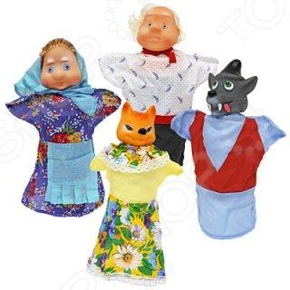 Набор для кукольного театра Русский стиль «Волк и лиса»
