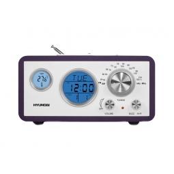 фото Радиобудильник Hyundai H-1611. Цвет: фиолетовый