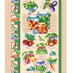 фото Полотенце вафельное ТексДизайн «Овощи»