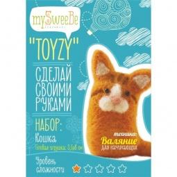 фото Набор для изготовления мягкой игрушки mySweeBe «Кошка»