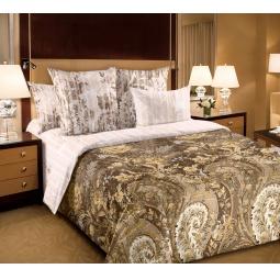 фото Комплект постельного белья Королевское Искушение «Музей». 1,5-спальный. Цвет: бежевый