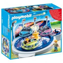 фото Конструктор игровой Playmobil «Парк Развлечений: Аттракцион - Звездолет с огнями»