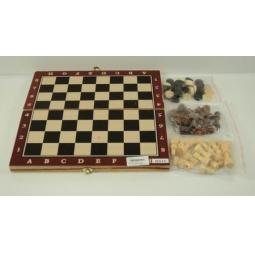 фото Набор для игры в шашки и шахматы Shantou Gepai 621792