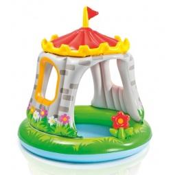 фото Бассейн надувной детский Intex «Замок»