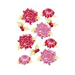фото Набор пуговиц из фанеры Tilda Цветы 480087