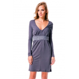 фото Платье Mondigo 8604. Цвет: темно-серый. Размер одежды: 42