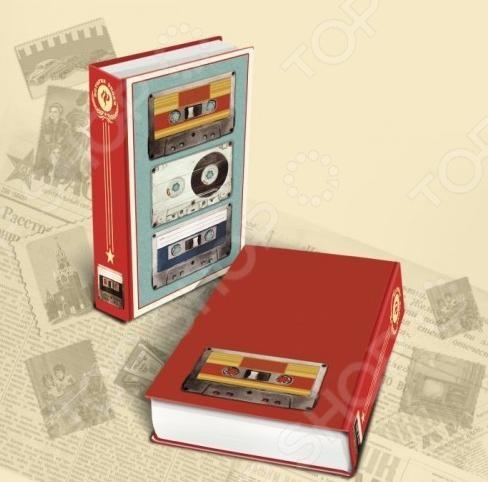 Книга-шкатулка Феникс-Презент «Аудиокассеты»