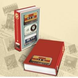 Купить Книга-шкатулка Феникс-Презент «Аудиокассеты»