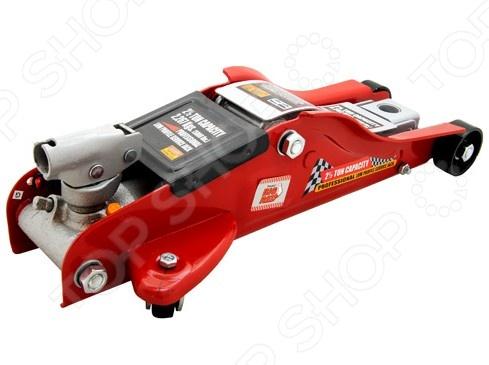 Домкрат гидравлический подкатной с вращающейся ручкой Big Red T825010C