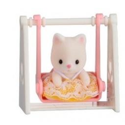 фото Набор игровой Sylvanian Families 5201 «Кошка на качелях»