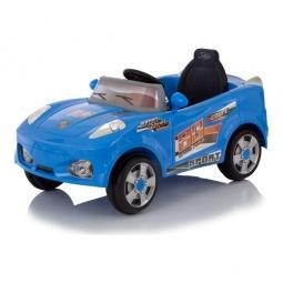 фото Электромобиль Jetem Coupe. Цвет: голубой