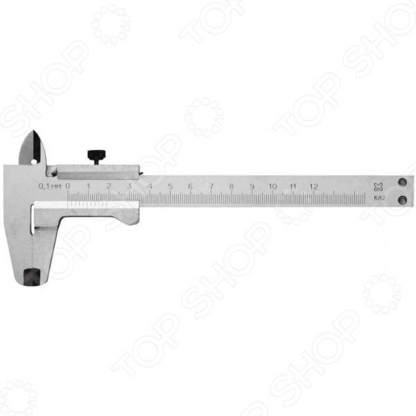 Штангенциркуль 3445 измерительный инструмент, с помощью которого вам удастся выполнить расчеты по установке или ремонту. Инструмент с шагом 0,1мм, класс точности 2, изготовлен из металла, поэтому обладает необходимой прочностью, позволяющая не беспокоится о возможных повреждениях от ударов, падений и других нежелательных воздействий.