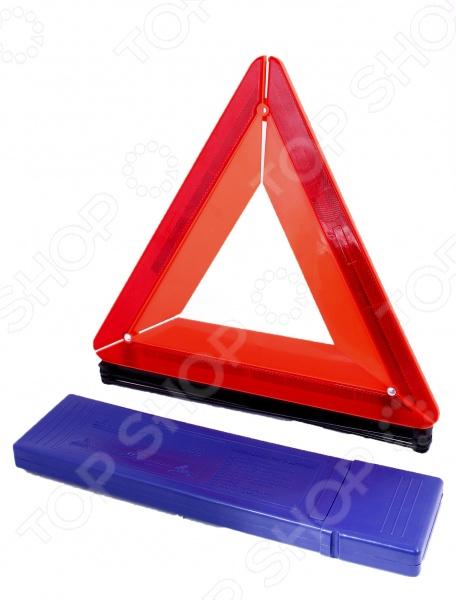 Знак аварийной остановки ALCA AL-55020Аптечки. Аварийные наборы. Знаки<br>Знак аварийной остановки ALCA AL-55020 это необходимый аксессуар в наборе каждого автолюбителя. Никто не знает заранее, что может случиться в дороге. В случае аварийной остановки необходимо установить этот знак в форме красного треугольника. Знак будет хорошо виден как днем, так и ночью. А еще этот этот знак является обязательным, согласно правилам, нельзя перемещаться на автомобиле, который не оснащен этим знаком. Треугольник компактно складывается в пенал, который входит в комплект поставки.<br>