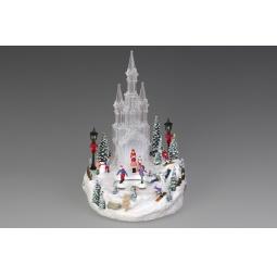 фото Музыкальная композиция с подсветкой Holiday Classics «Ледяной замок» 1709287