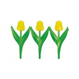 фото Забор декоративный Альтернатива «Цветы»