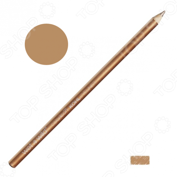 Карандаш для контура глаз Wet n Wild Color Icon Kohl Liner Pencil E606A Pros And Bronze. Тон: бронзаДекоративная косметика<br>Карандаш для контура глаз Wet n Wild Color Icon Kohl Liner Pencil E606A Pros And Bronze станет отличным дополнением к набору декоративной косметики. Он прекрасно подойдет для макияжа глаз в золотисто-бронзовых тонах и сделает ваш взгляд еще более выразительным. Карандаш отличается стойкостью, насыщенностью цвета и хорошей пигментацией. Он легко наносится, хорошо растушевывается и не размазывается.<br>