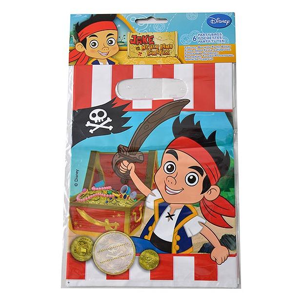фото Подарочные пакетики Procos «Джейк и пираты Нетландии»