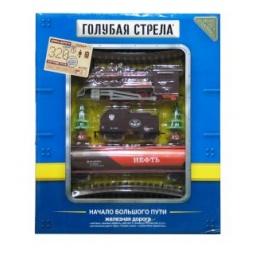 фото Набор железной дороги игрушечный Голубая стрела 87142