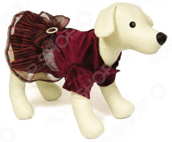 Платье для собак DEZZIE «Смайли» платье для собак dezzie рейси