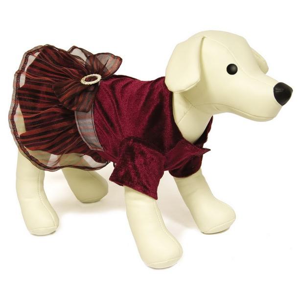 фото Платье для собак DEZZIE «Смайли». Размер: 35 см