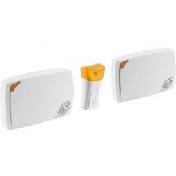 Купить Звонок электрический беспроводной Светозар «Трио» 58076
