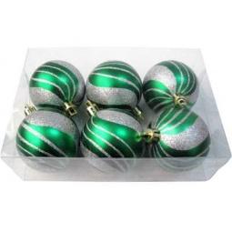 фото Шары новогодние Irit «Зеленая волна»