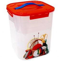 фото Контейнер для хранения мелочей с вкладышем IDEA «Деко. Рукоделие». Объем: 10 л