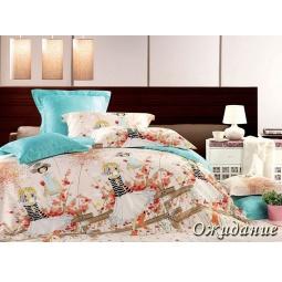 фото Комплект постельного белья Tiffany's Secret «Ожидание». 2-спальный. Размер наволочки: 50х70 см — 2 шт