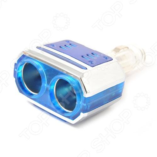 Разветвитель прикуривателя Автостоп AB-32902 обязательно пригодится тем, кто много времени проводит за рулем. Зачастую, салон современного автомобиля по наполнению электрооборудованием не уступает рабочему кабинету. Видеорегистратор, магнитола, навигатор, ионизатор воздуха, трансмиттер и многое другое можно подключать к автомобильному прикуривателю. Автостоп AB-32902 на 2 гнезда с поворотом на 90 градусов позволит вам подключать сразу несколько гаджетов.