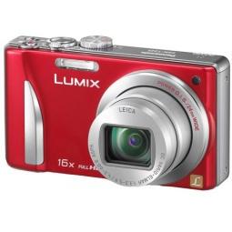 фото Фотокамера цифровая Panasonic Lumix DMC-TZ25. Цвет: красный