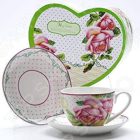 Чайная пара Mayer&Boch MB-22999 «Розы»