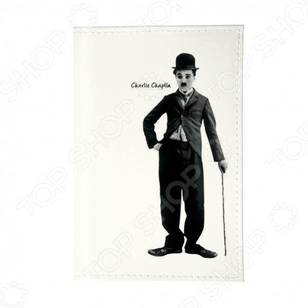 цена на Обложка для автодокументов Mitya Veselkov «Чарли Чаплин»