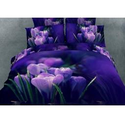 фото Комплект постельного белья Buenas Noches Tintas. Satin Fotoprint. 2-спальный