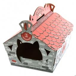 Купить Домик для кошек КОТЭдж 40639 «Картонный домик»