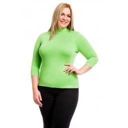 фото Водолазка Mondigo XL 7010. Цвет: салатовый. Размер одежды: 50