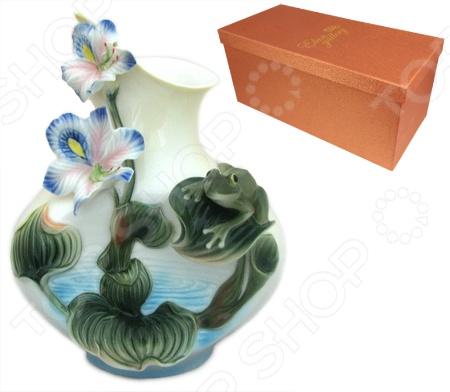 Ваза Elan Gallery «Кувшинки» вазы elan gallery ваза павлин в райском саду
