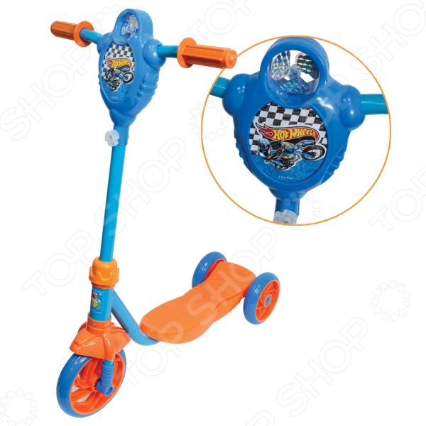 Самокат трехколесный 1 Toy Т57577 «Hot wheels» 1 Toy - артикул: 517976