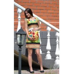 Купить Платье для беременных Nuova Vita 2107 «Маки»