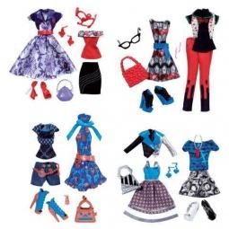 фото Набор одежды для игрушек Mattel Школа монстров базовый. В ассортименте