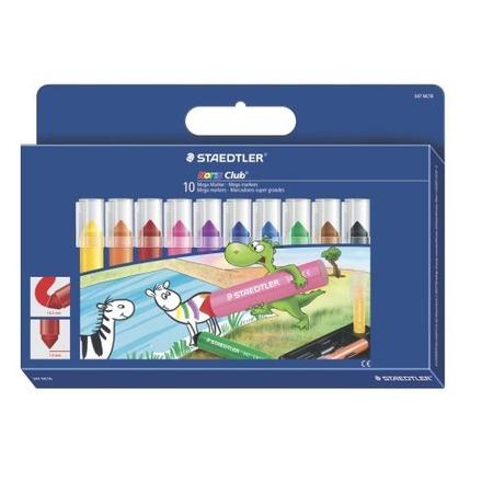 Купить Набор цветных маркеров Staedtler 347NC10