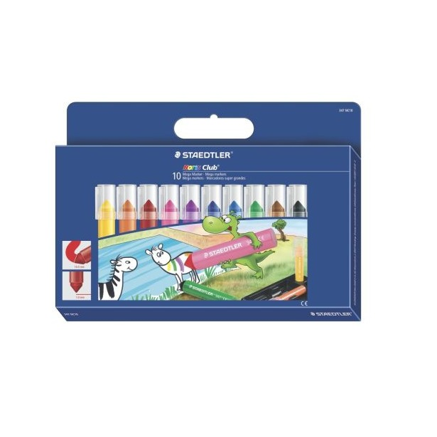 фото Набор цветных маркеров Staedtler 347NC10