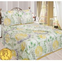 фото Комплект постельного белья Сова и Жаворонок «Медея». 2-спальный. Размер наволочки: 70х70 см — 2 шт
