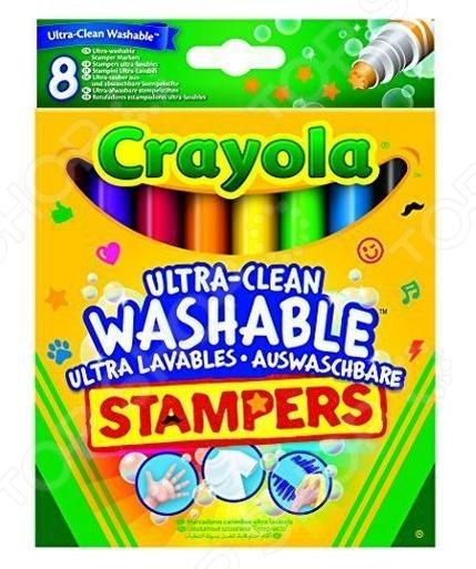 Набор мини-штампов Crayola 58-8129 «Животные»