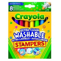 Купить Набор мини-штампов Crayola 58-8129 «Животные»